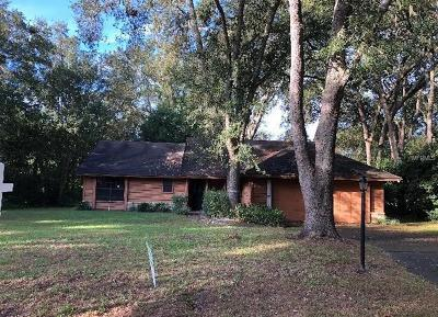 mount dora Single Family Home For Sale: 4115 Lake Forest Street