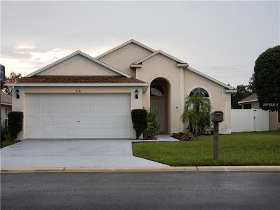 davenport Single Family Home For Sale: 218 Royal Ridge Drive