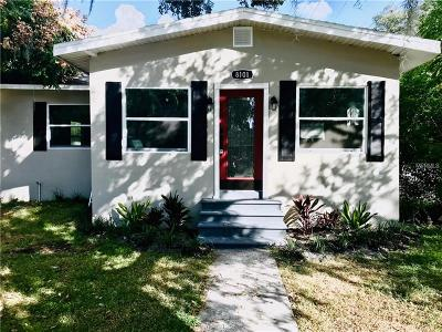 Tampa Single Family Home For Sale: 8101 Edison Drive