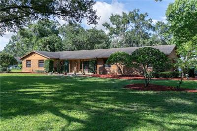Orange County Single Family Home For Sale: 3636 Lake Buynak Road