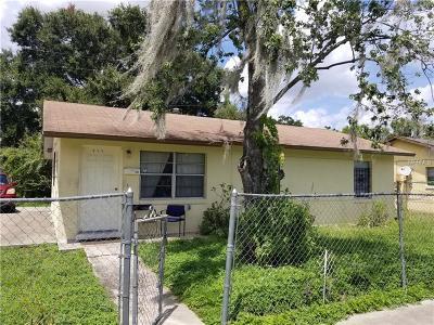 Orlando Single Family Home For Sale: 811 W Washington Street