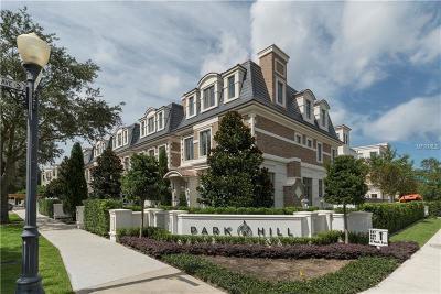 Winter Park Townhouse For Sale: 639 N Park Avenue