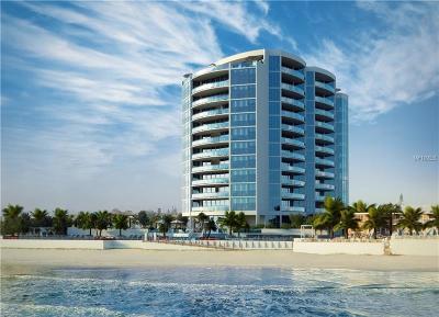 Daytona Beach Shores Condo For Sale: 1901-1903 S Atlantic Avenue #801