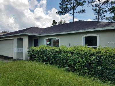 Deltona  Single Family Home For Sale: 2679 Coachman Drive