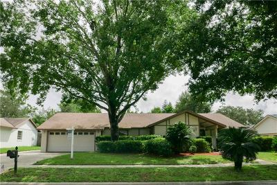 Casselberry Single Family Home For Sale: 3533 Jericho Drive