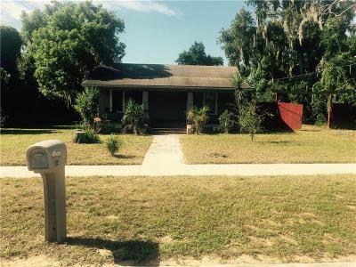 Eustis Single Family Home For Sale: 816 E Citrus Avenue