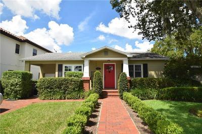 Orlando Single Family Home For Sale: 1217 W Yale Street