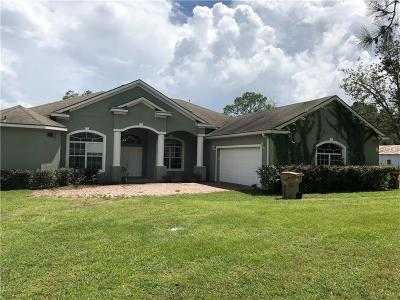 Eustis Single Family Home For Sale: 34930 County Road 437