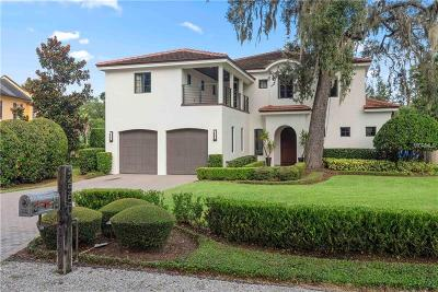 Winter Park Single Family Home For Sale: 2550 Venetian Way