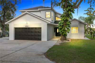Kissimmee Single Family Home For Sale: 4911 Lake Cecile Drive