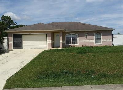 Mascotte Single Family Home For Sale: 4054 Lake Bluff Drive