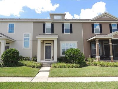 Groveland Townhouse For Sale: 505 Juniper Springs Drive