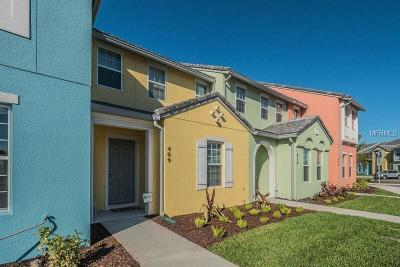 Davenport Townhouse For Sale: 409 Captiva Drive