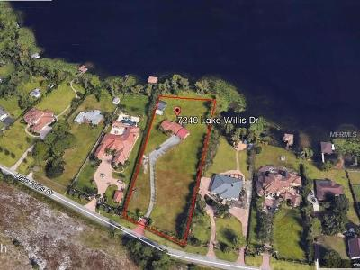 Orlando Residential Lots & Land For Sale: 7240 Lake Willis Drive