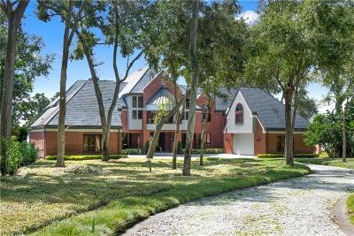 Orlando Single Family Home For Sale: 1206 Harbour Island Road
