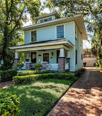 Orlando Single Family Home For Sale: 614 E Livingston Street