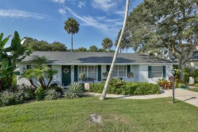 New Smyrna Beach Single Family Home For Sale: 4622 Saxon Drive