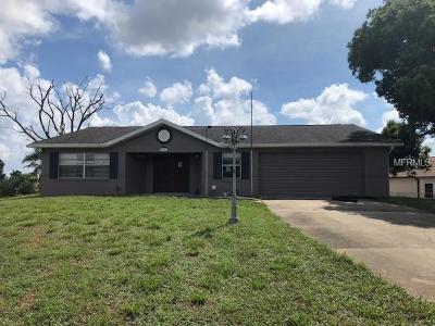Deltona Single Family Home For Sale: 2291 Alton Road
