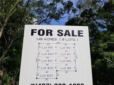 Mount Dora Residential Lots & Land For Sale: 5901 Oak Street