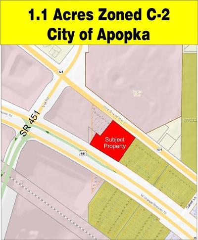 Apopka Residential Lots & Land For Sale: 675 W Orange Blossom Trail