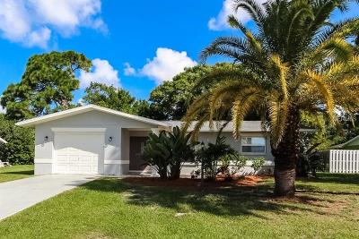 Venice FL Single Family Home For Sale: $260,000