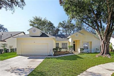 Winter Springs Single Family Home For Sale: 260 Saxony Court