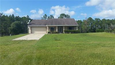 Osteen Single Family Home For Sale: 400 Black Lake Road