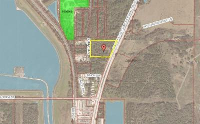 Debary Residential Lots & Land For Sale: 526 S Charles Richard Beall Boulevard