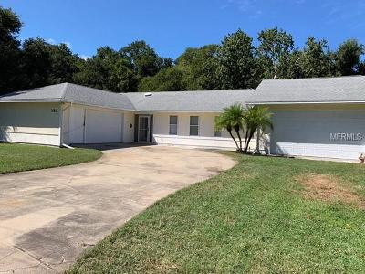 Edgewater Single Family Home For Sale: 133 N Cory Drive