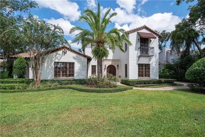 Winter Park Single Family Home For Sale: 922 Bonita Drive