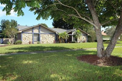 Winter Springs Single Family Home For Sale: 1209 Trotwood Boulevard