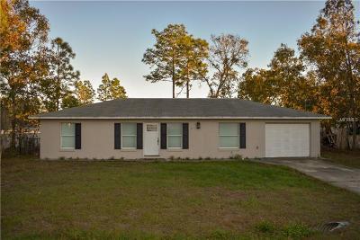 Single Family Home For Sale: 3 Pecan Run Radial