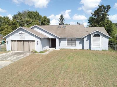 Deltona Single Family Home For Sale: 1024 Pioneer Drive