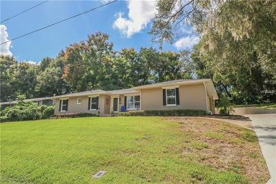 Mount Dora Single Family Home For Sale: 1825 Hilltop Drive