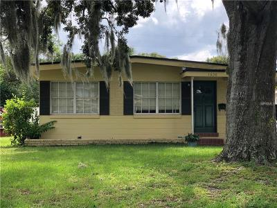 Winter Park Single Family Home For Sale: 1630 Chestnut Avenue