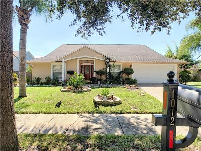 Oviedo Single Family Home For Sale: 1012 Ohanlon Court