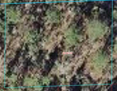 Levy County Residential Lots & Land For Sale: 59 Pl