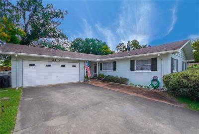Winter Park Single Family Home For Sale: 2432 Baxter Court