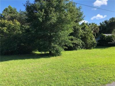 Homosassa Residential Lots & Land For Sale: 8458 W Buckwood Court