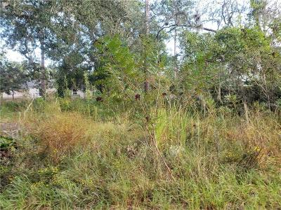 Orange City Residential Lots & Land For Sale: 17th Street