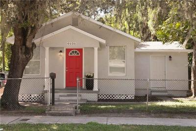 Tampa Single Family Home For Sale: 4606 N 15th Street
