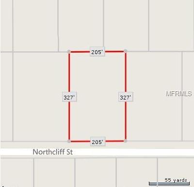 Orlando Residential Lots & Land For Sale: 0 Northcliff Street