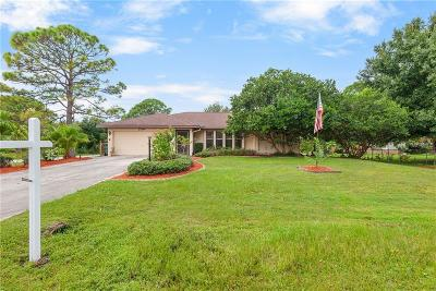 North Port Single Family Home For Sale: 3700 Log Cabin Road