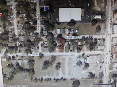 Orlando FL Residential Lots & Land For Sale: $46,000