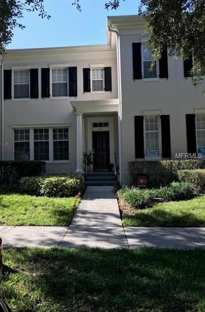 Orange County, Osceola County Townhouse For Sale: 1148 Lake Baldwin Lane