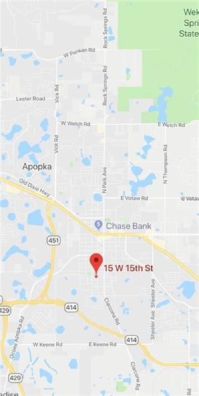 Apopka Residential Lots & Land For Sale: E 15th Street