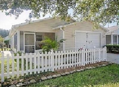 The Villages Single Family Home For Sale: 17409 SE 93rd Vine Avenue