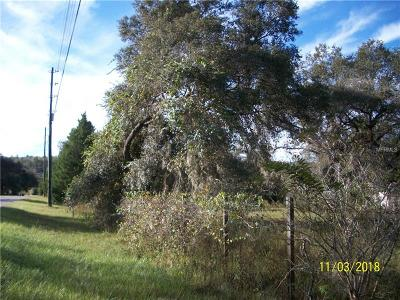 Clermont Residential Lots & Land For Sale: 14320 County Road 561a