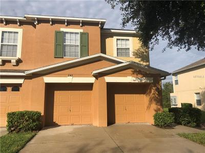 Winter Garden Townhouse For Sale: 242 Winter Nellis Circle
