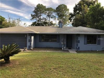 Debary Single Family Home For Sale: 113 Matanzas Road